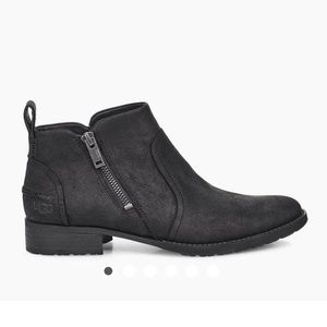 Brand new in box Ugg black booties - size 8